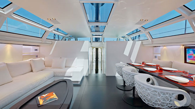 Visites architecturales yachts